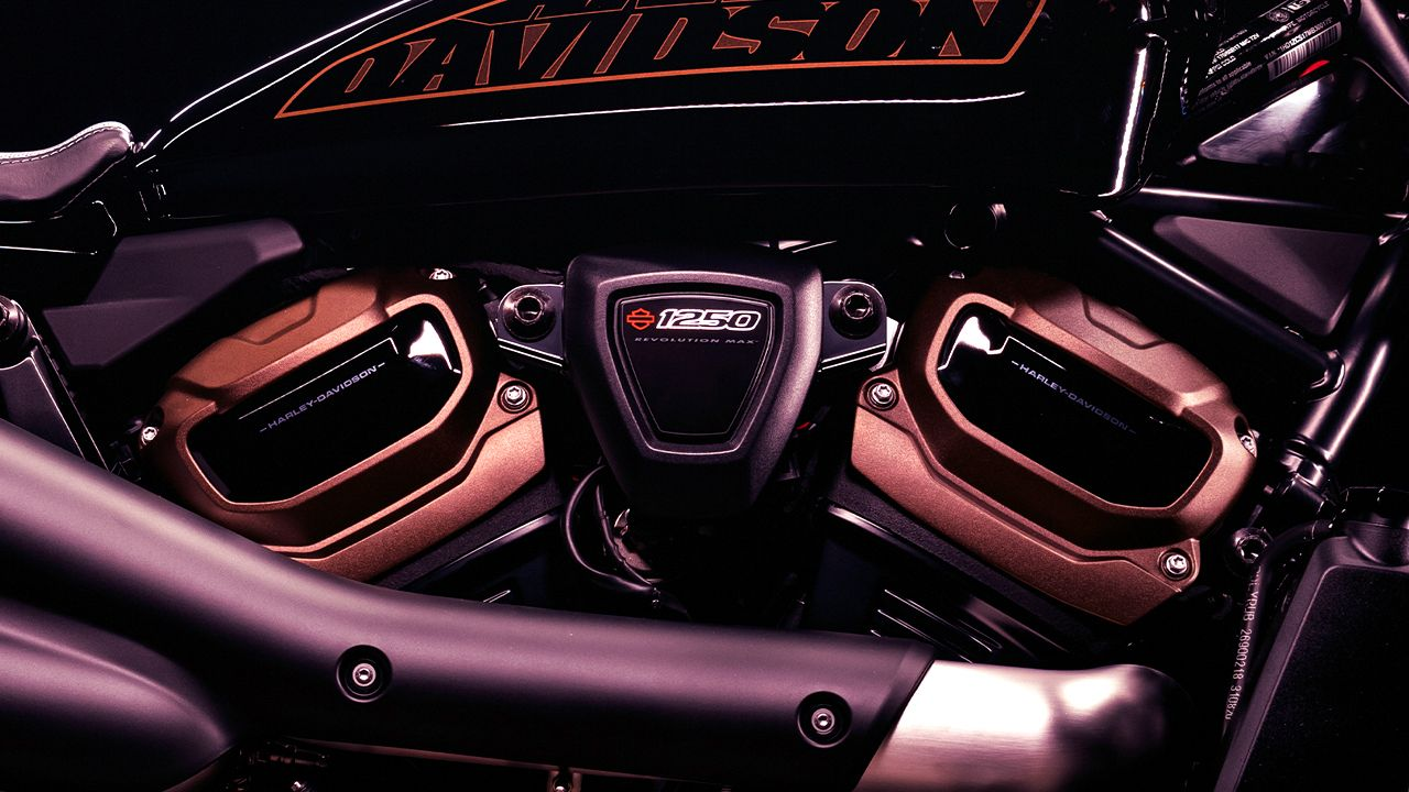 Harley Davidson Custom 1250 Teaser