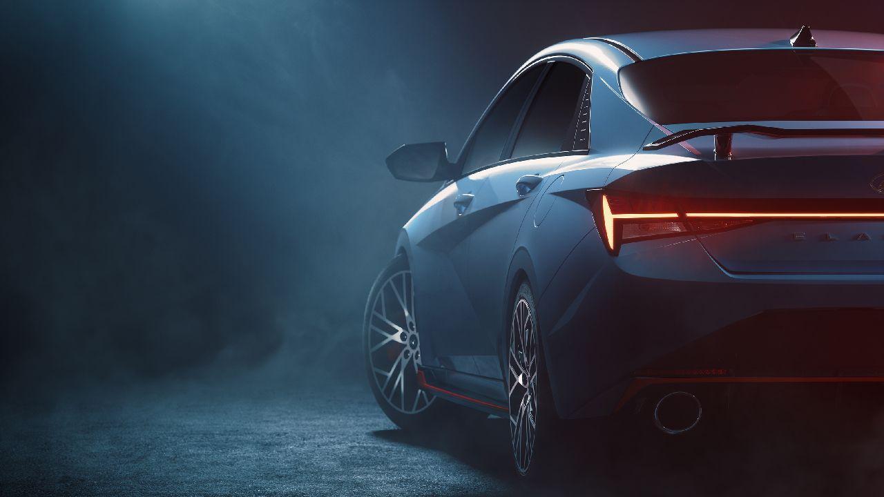 Hyundai Elantra Rear Three Quarter Static Shot