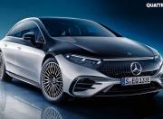 Mercedes Benz EQS Front Quarter Static