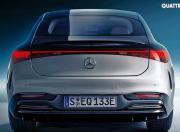 Mercedes Benz EQS Rear View