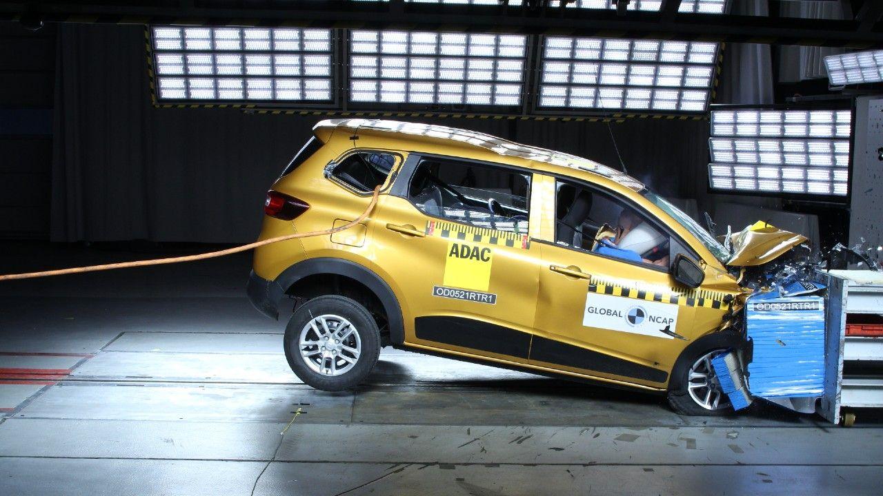 Renault Triber Global Ncap Crash Test 4 Star Result