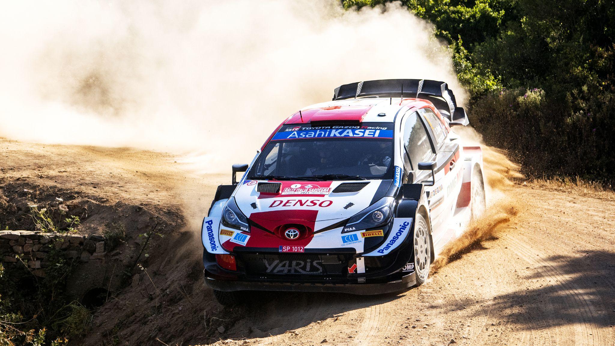 WRC 2021 Rally Italia Sardegna Sebastien Ogier