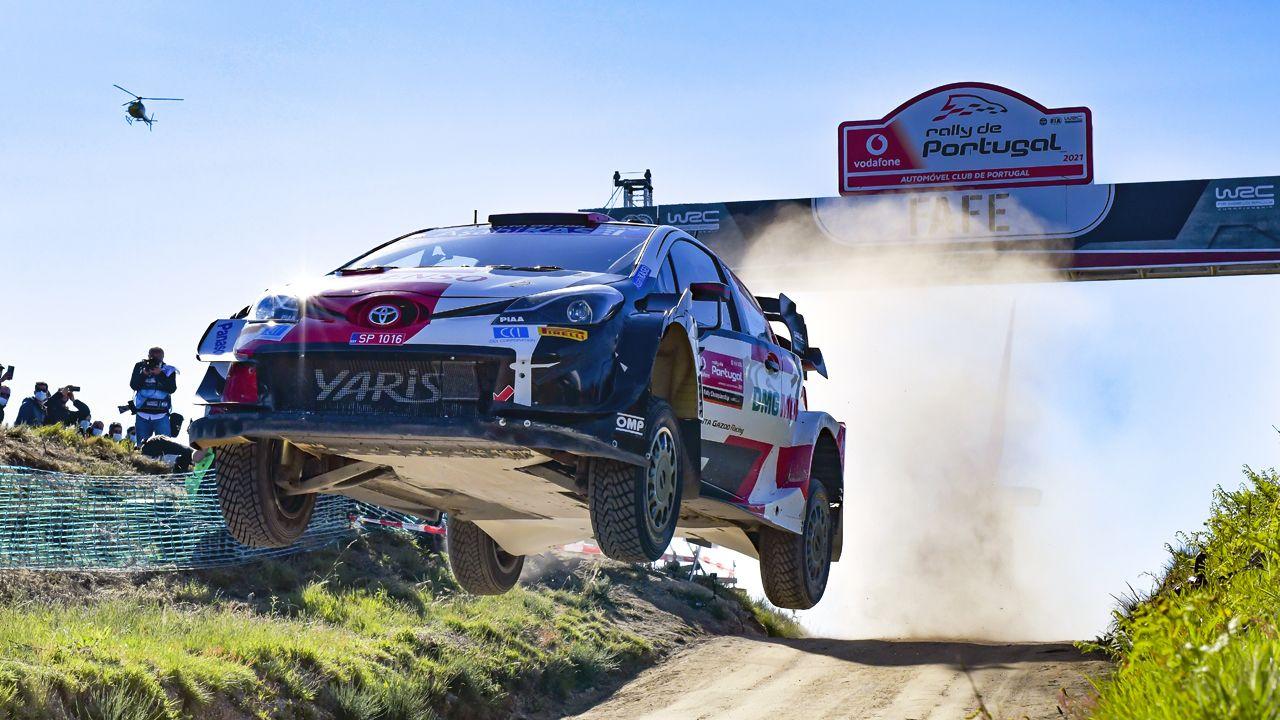 WRC 2021 Rally Portugal Elfyn Evans