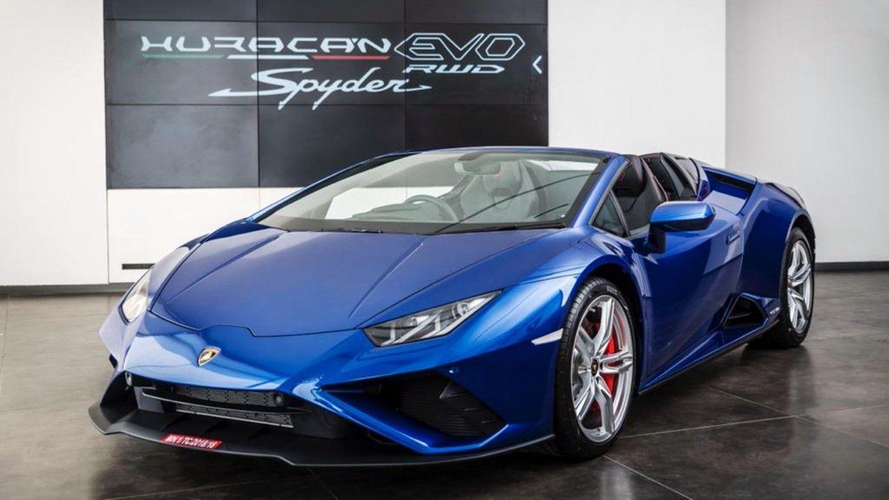 Lamborghini Huracan Evo Rwd Spyder India Launched Front Three Quarter