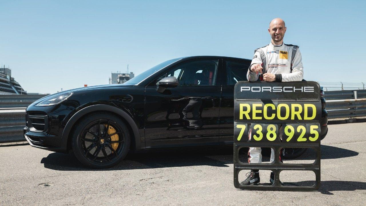 Porsche Cayenne Coupe Nurburgring Lap Record Lars Kern