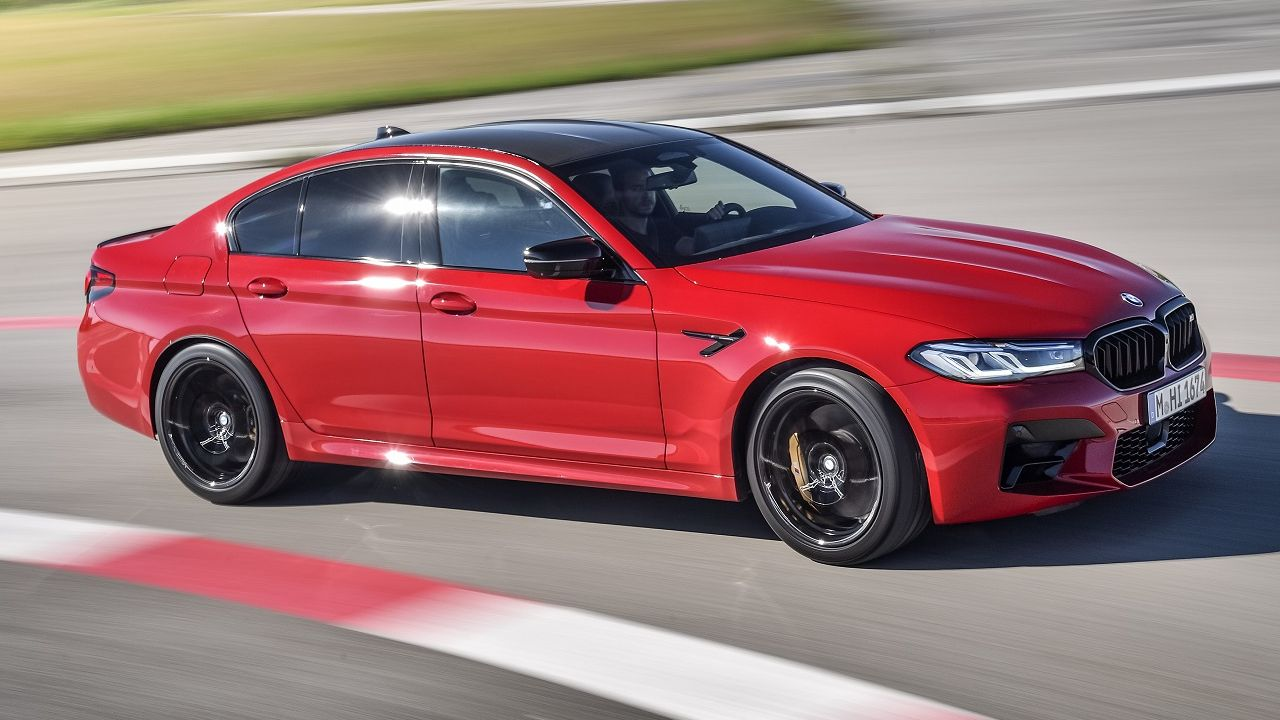 2021 BMW M5 Competition Front Right Three Quarter Motion