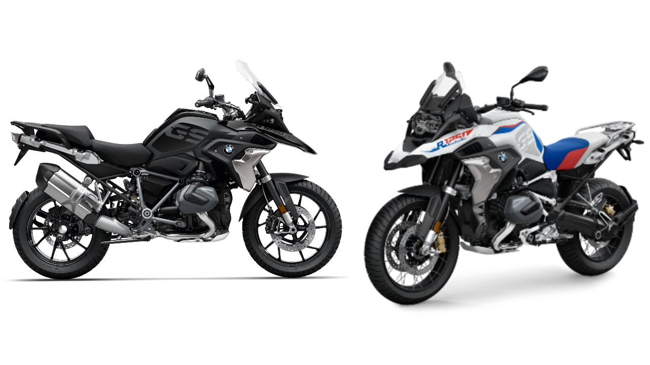 2021 BMW R 1250 GS And Adventure Cross Profile Static