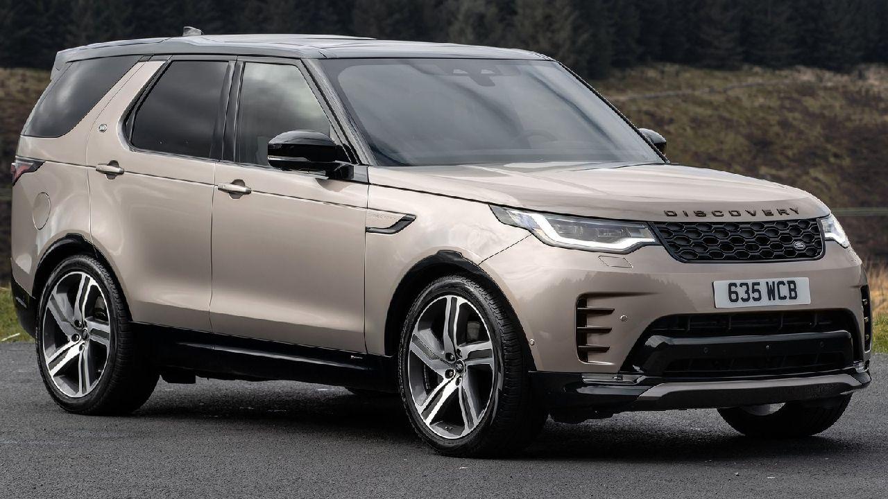 2021 Land Rover Discovery Three Quarter Shot