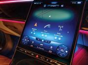 2021 Mercedes Benz S Class Infotainment Screen