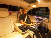 2021 Mercedes Benz S Class Rear Seat