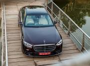 2021 Mercedes Benz S Class Top Front Static