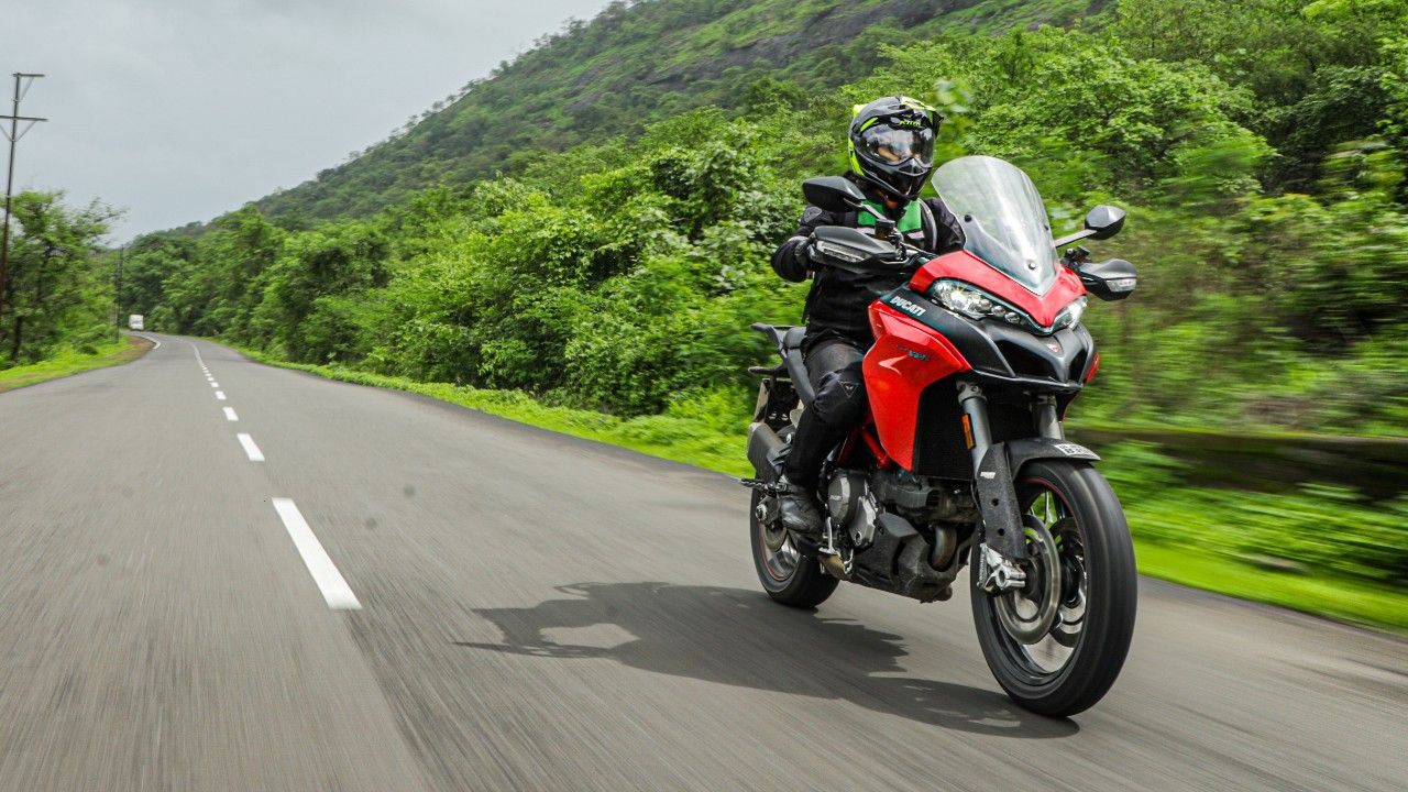 2021 Ducati Multistrada 950 S Review In Action Front