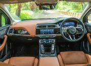 2021 jaguar i pace electric details interior dashboard pivi pro screen m21