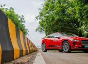 2021 jaguar i pace electric static front three quarter m31