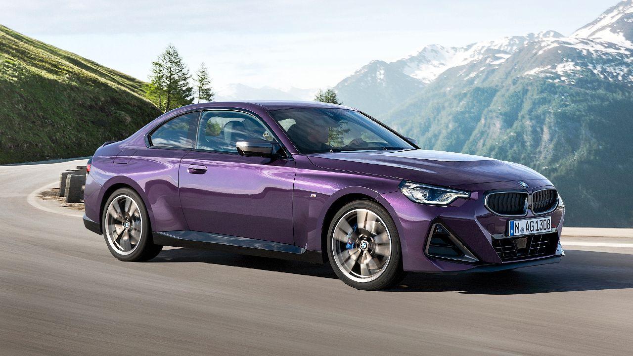 2022 BMW 2 Series Coupe Three Quarter Motion Shot