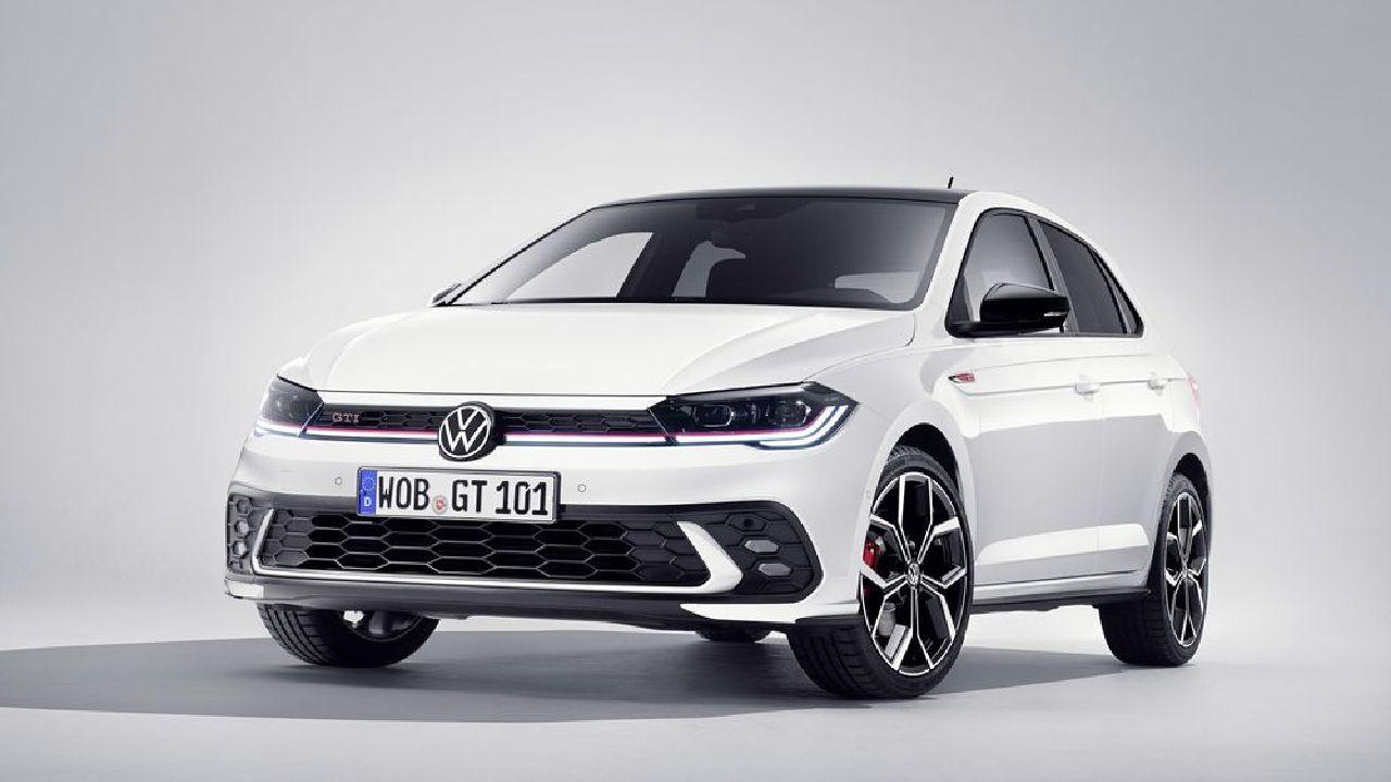 2022 Volkswagen Polo GTI Front Three Quarter Static
