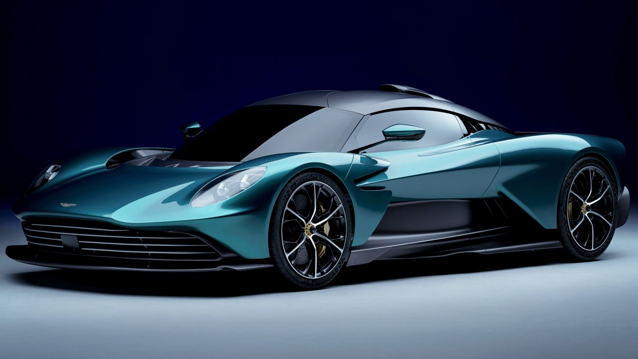 Aston Martin Valhalla Static Front Quarter