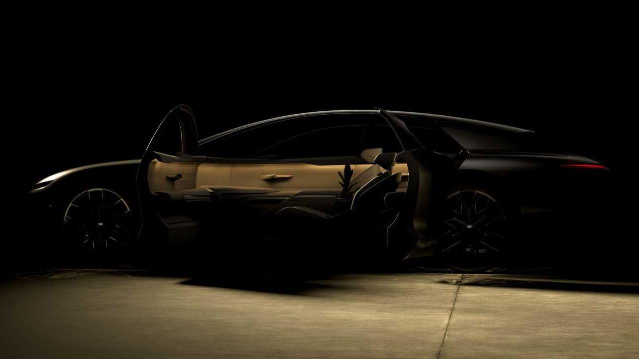 Audi Grand Sphere Concept Side Profile Static