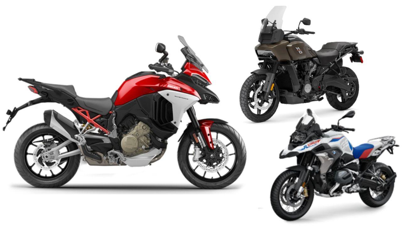 Ducati Multistrada V4 Vs 2021 BMW R 1250 GS Vs Harley Davidson Pan America Spec