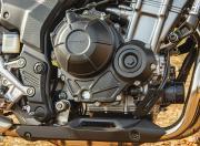Honda CB500X Engine side View