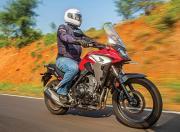 Honda CB500X Side View Motion