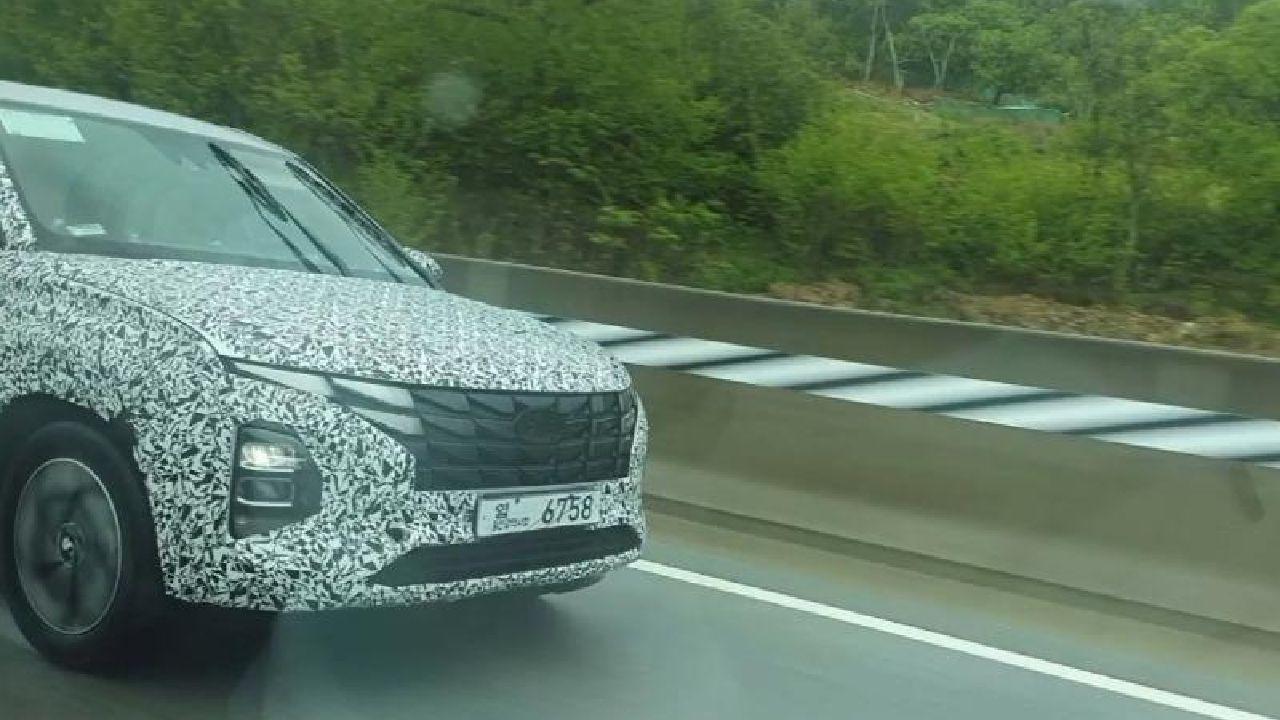 Hyundai Creta Facelift Spied