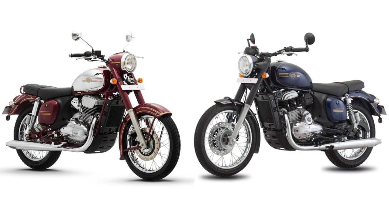 Jawa Classic And Forty Two Cross Profile