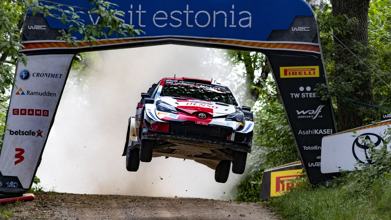 Kalle Rovanpera Rally Estonia Day 2 WRC 2021