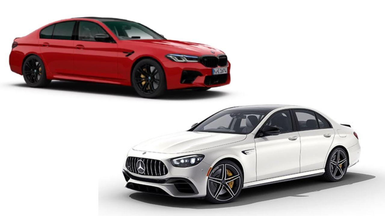 Mercedes AMG E 63S Vs BMW M5 Competition Spec Comparison