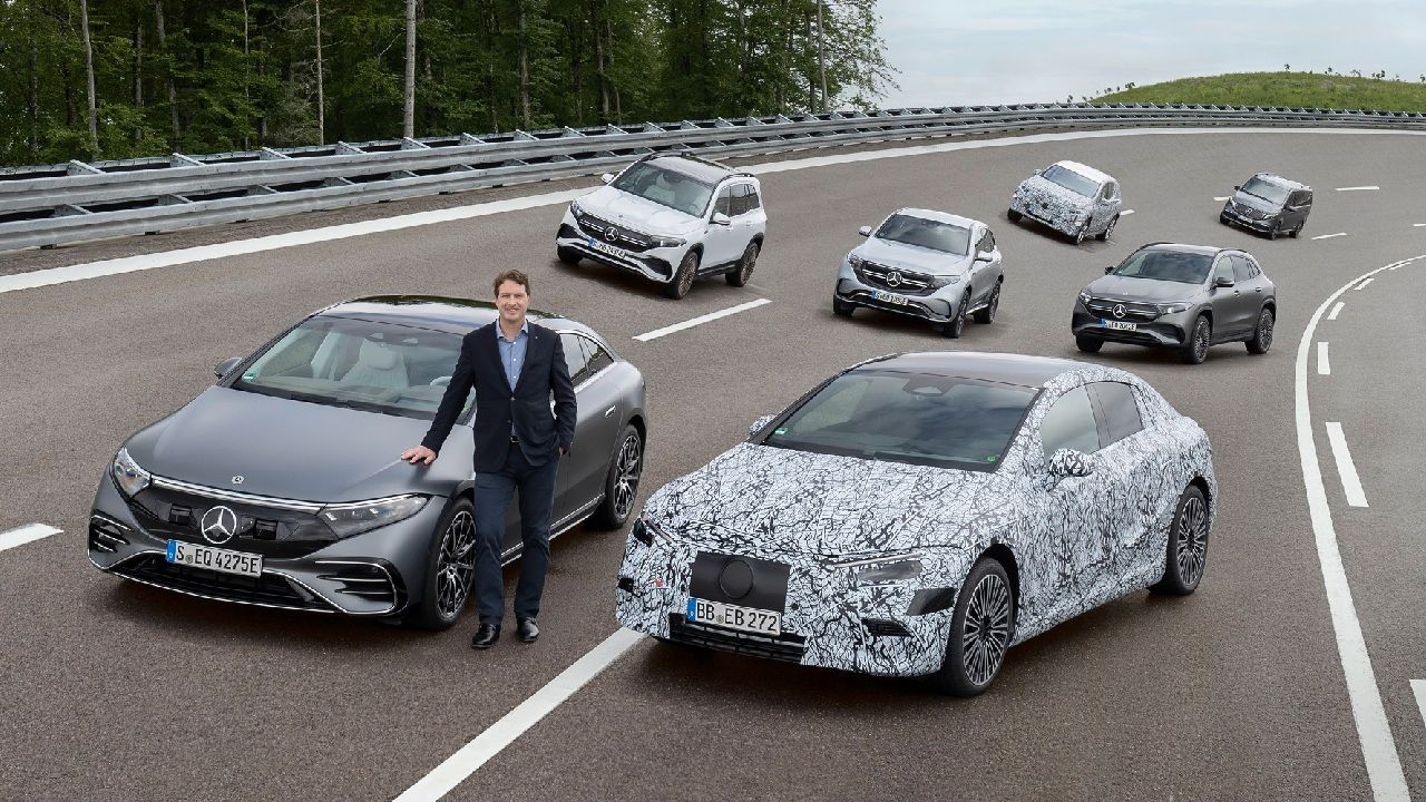 Mercedes Benz All Electric Plans