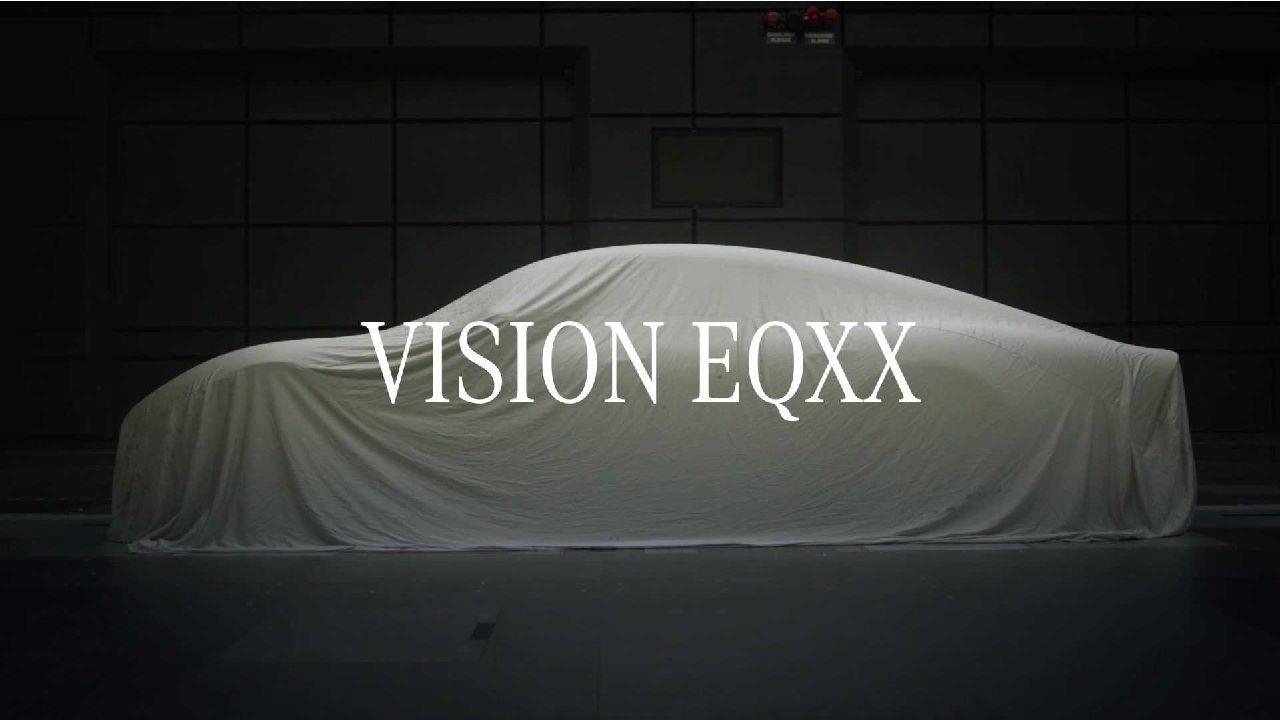 Mercedes Benz Vision EQXX Concept Side Profile