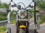 Scrambler Ducati Front View Static