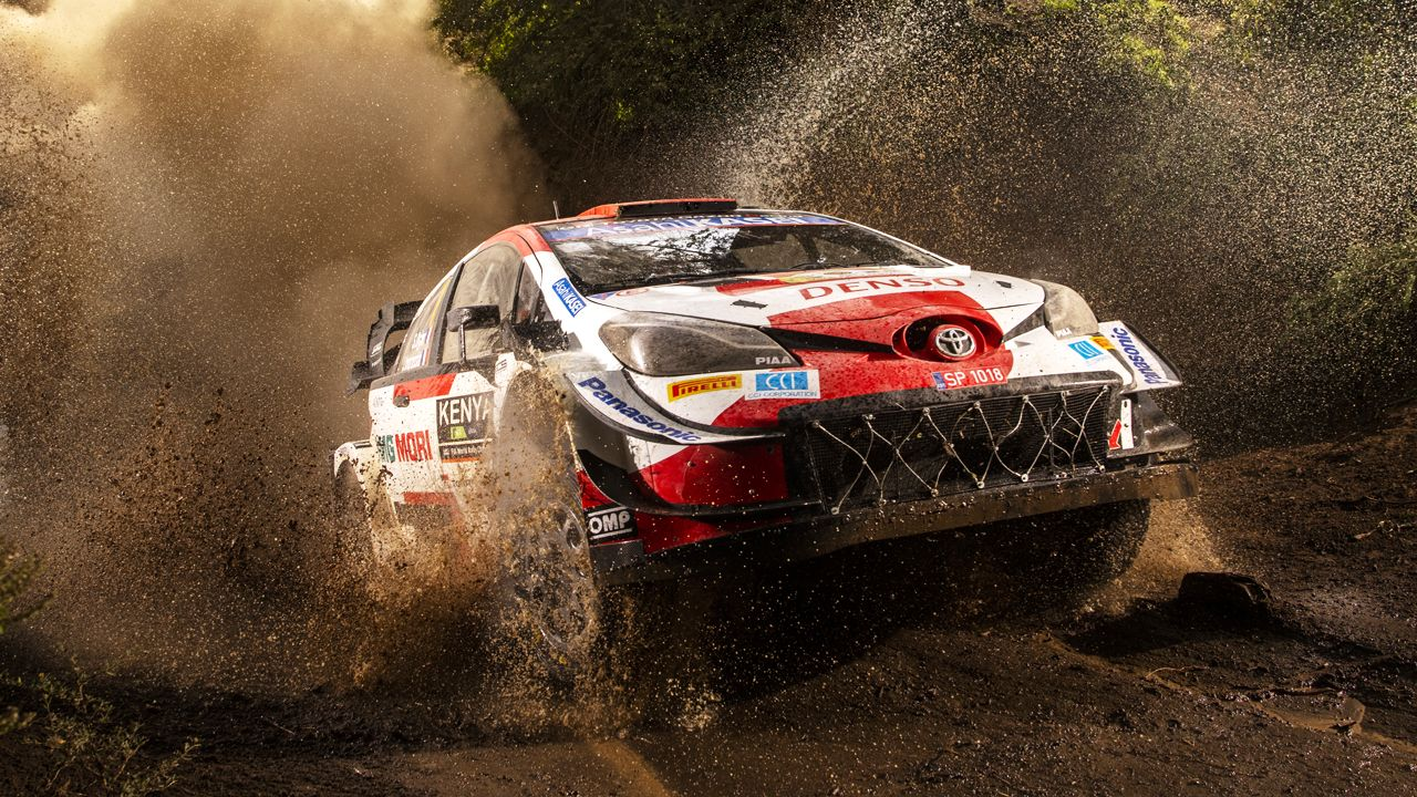 Sebastien Ogier 2021 WRC Rally Kenya