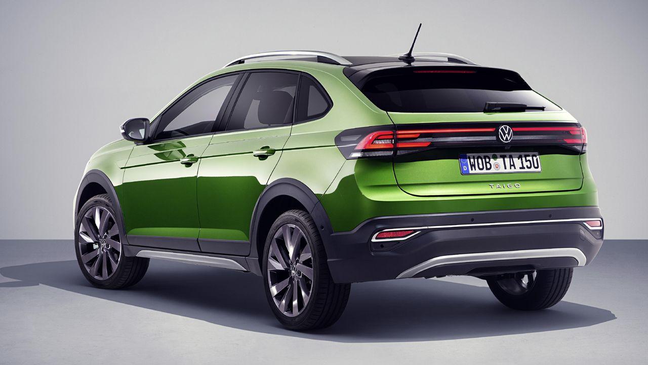 VW Taigo Rear View Static
