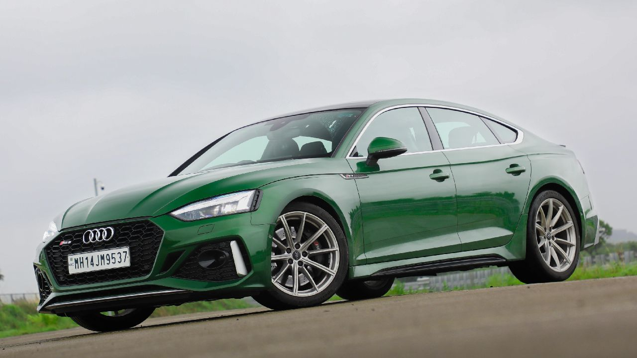 2021 Audi RS 5 Sportback Front Three Quarter Static
