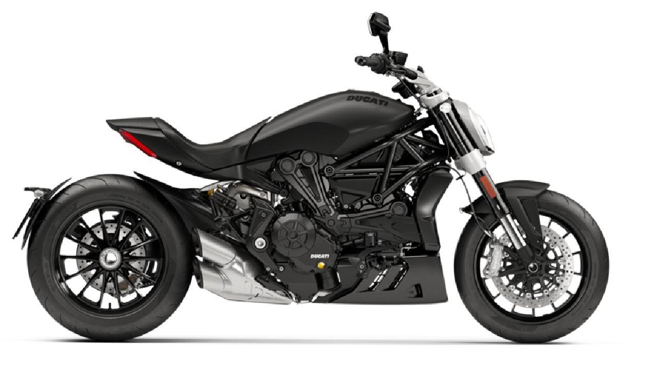 2021 Ducati XDiavel Dark Edition Side Profile Static