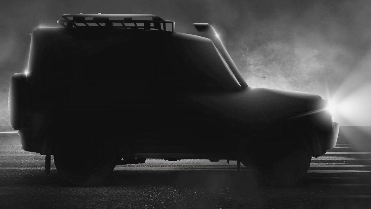 2021 Force Gurkha Side Profile Static Shot Rim Light