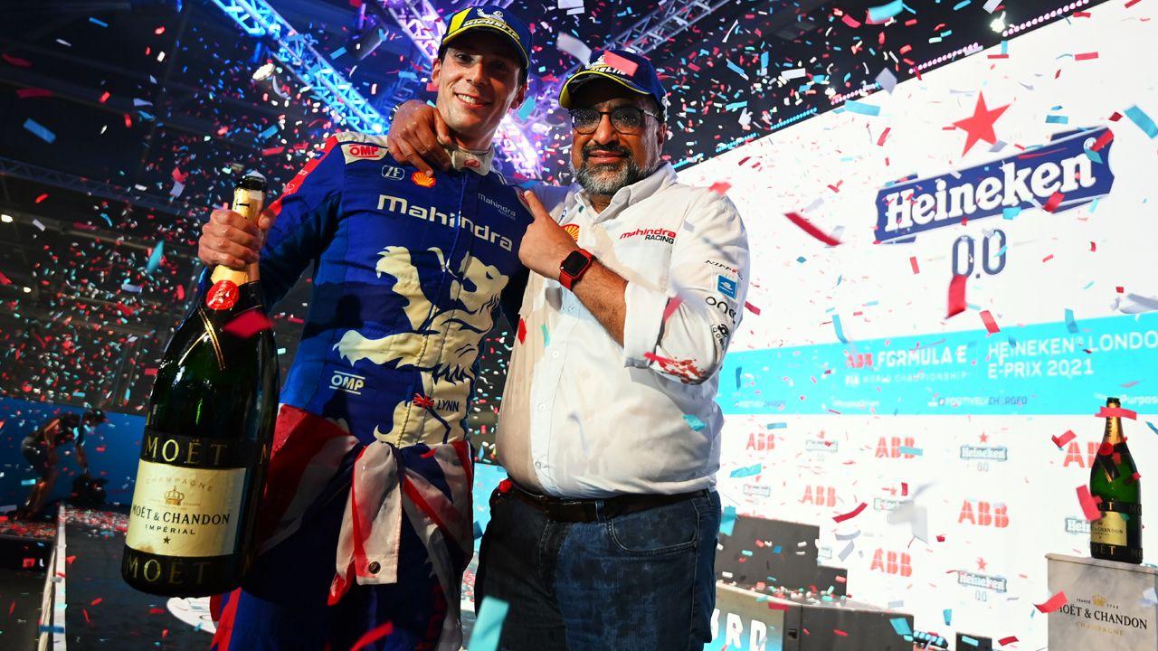 2021 Formula E London EPrix Round 13 Mahindra Race Win