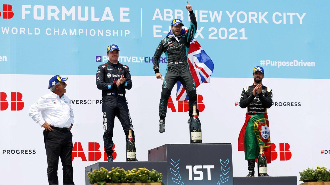 2021 Formula E New York EPrix Round 11 Jaguar Race Win