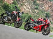2021 Honda CB650R CBR650R front design4