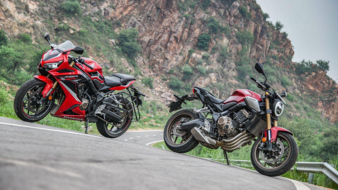 2021 Honda CB650R CBR650R pictures1