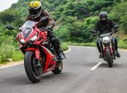 2021 Honda CB650R CBR650R review3