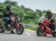 2021 Honda CB650R CBR650R static3