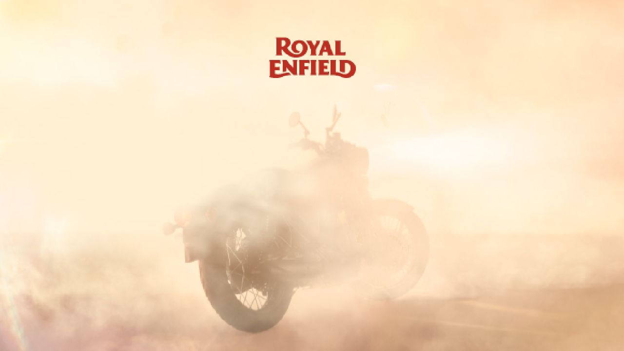 2021 Royal Enfield Classic 350 Teaser Image Rear Three Quarter