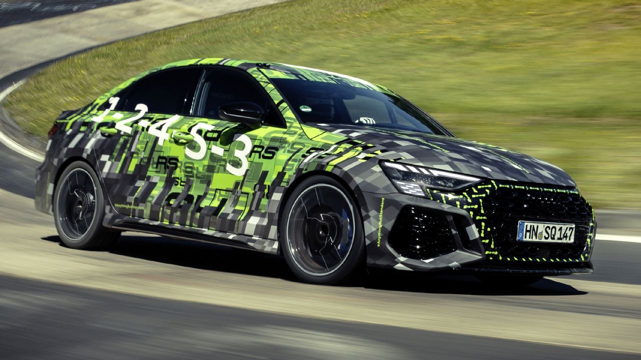 2022 Audi RS 3 Lap Record N Rburgring Nordschleife