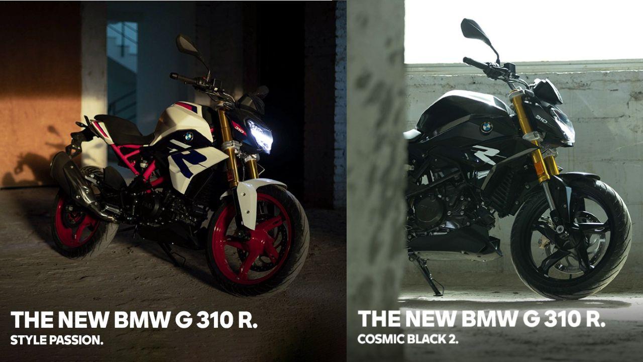 2022 BMW G 310 R Front Right Three Quarter Static
