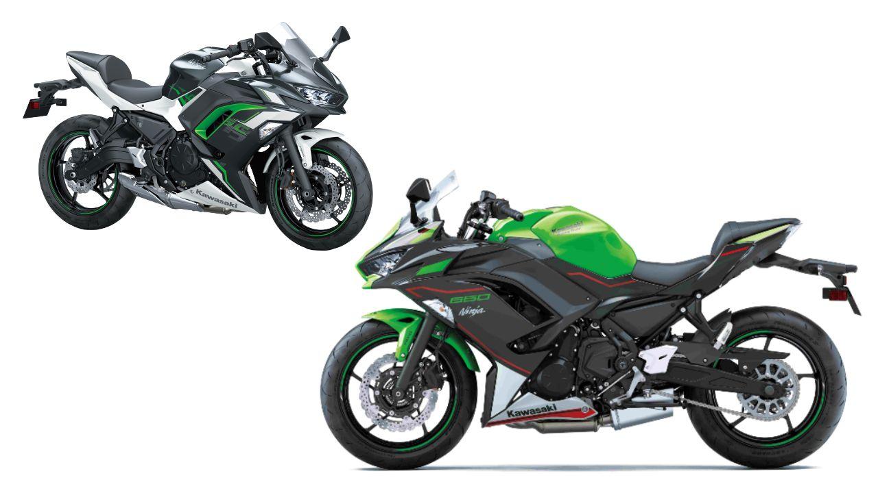 2022 Kawasaki Ninja 650 Sider Profile Static
