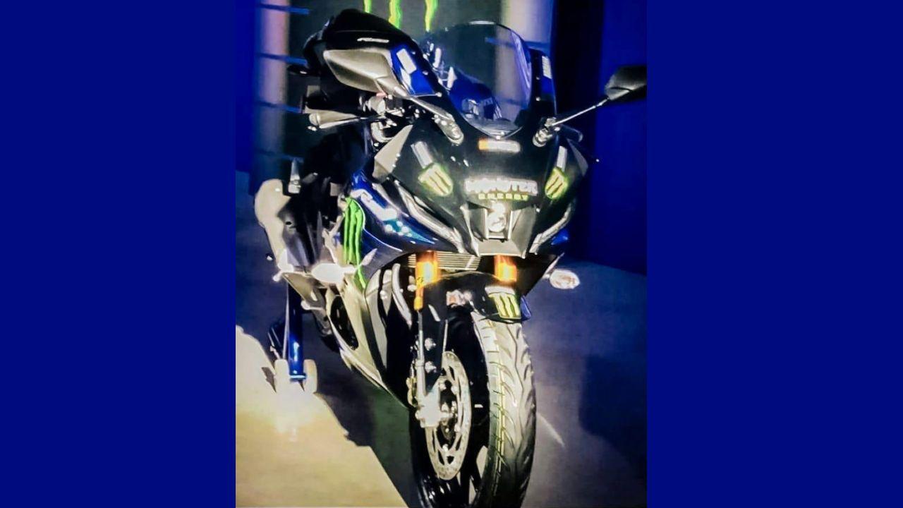 2022 Yamaha YZF R15 V4 M Front Three Quarter Static
