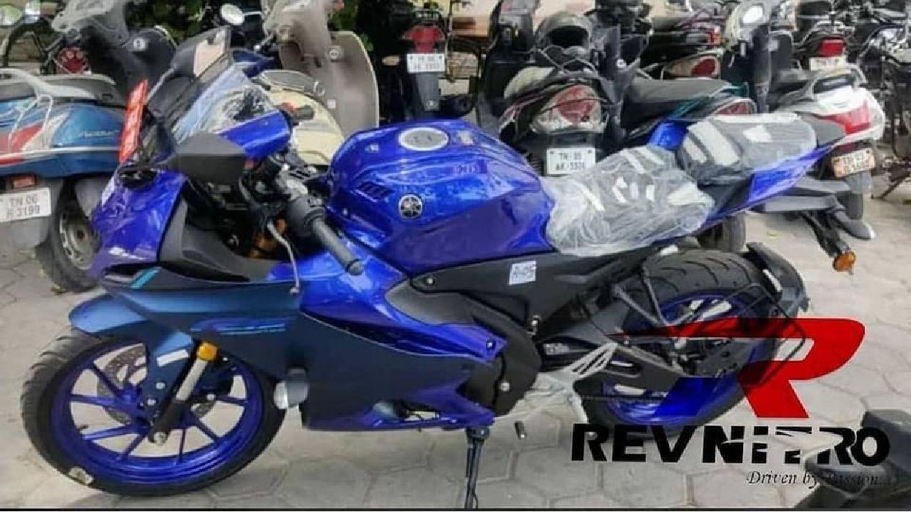 2022 Yamaha YZF R15M Left Side Static Shot