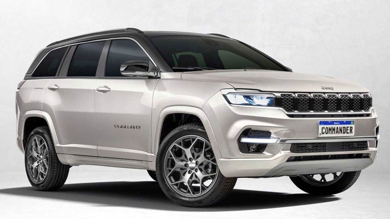 2022 Jeep Commander Meridian Unveiled Front Three Quarter